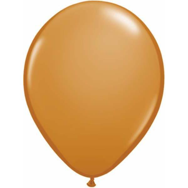 LATEX BALLOON 40CM - FASHION MOCHA BROWN PK 50