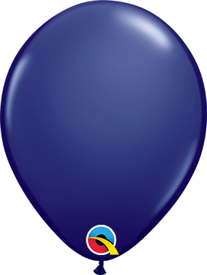 LATEX BALLOON 28CM - FASHION NAVY BLUE