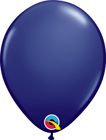 LATEX BALLOON 28CM - FASHION NAVY BLUE PK 100
