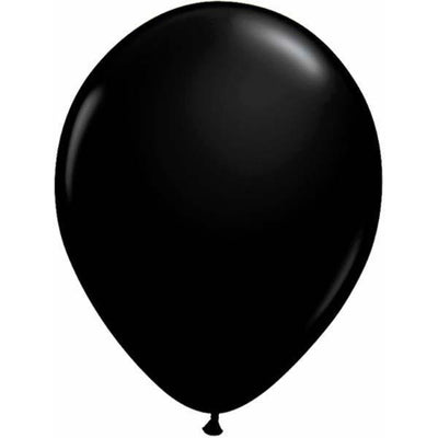 LATEX BALLOON 12CM - FASHION ONYX BLACK