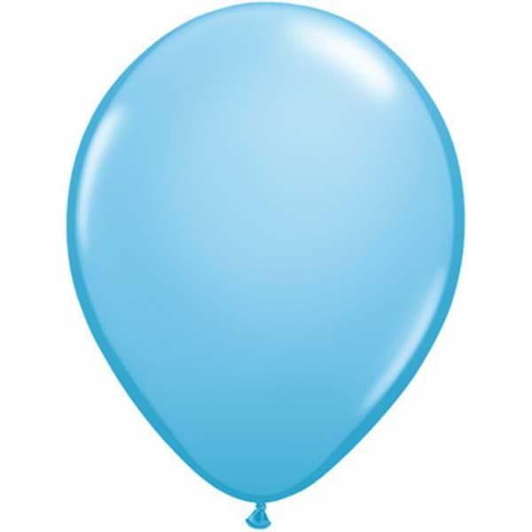 LATEX BALLOON 12CM - FASHION PALE BLUE PK 100