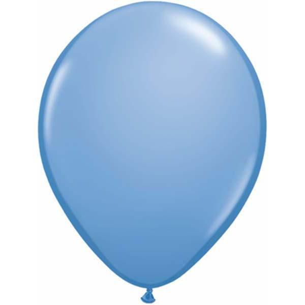 LATEX BALLOON 12CM - FASHION PARIWINKLE PK 100