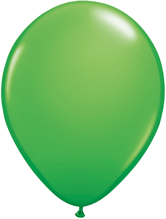 LATEX BALLOON 28CM - FASHION SPRING GREEN