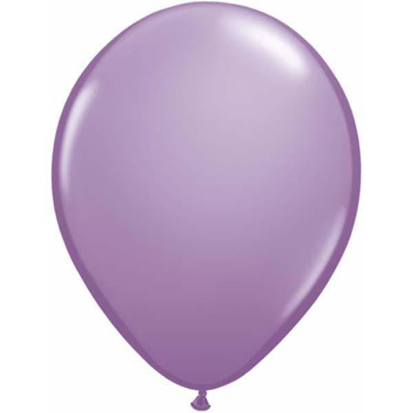 LATEX BALLOON 28CM - FASHION SPRING LILAC PK 100