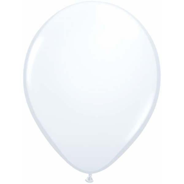 LATEX BALLOON 28CM - FASHION WHITE