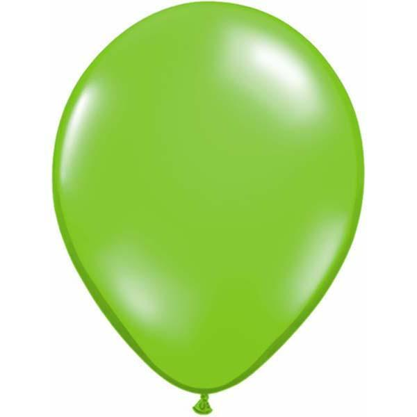 LATEX BALLOON 12CM - JEWEL LIME PK 100