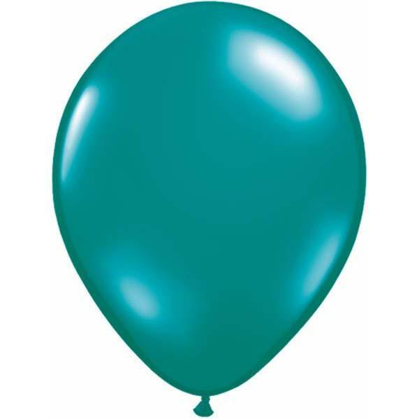 LATEX BALLOON 28CM - JEWEL TEAL PK 100