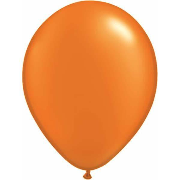 LATEX BALLOON 28CM - PEARL MANDARIN ORANGE