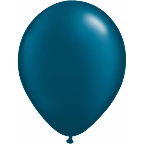 LATEX BALLOON 28CM - PEARL MIDNIGHT BLUE PK 100