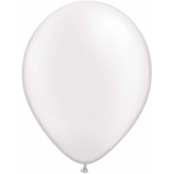LATEX BALLOON 28CM - PEARL WHITE PK 100