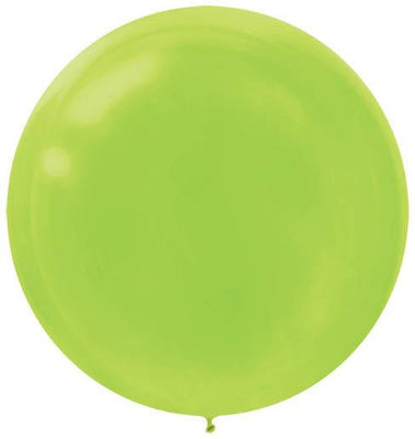 LATEX BALLOON 60CM - KIWI