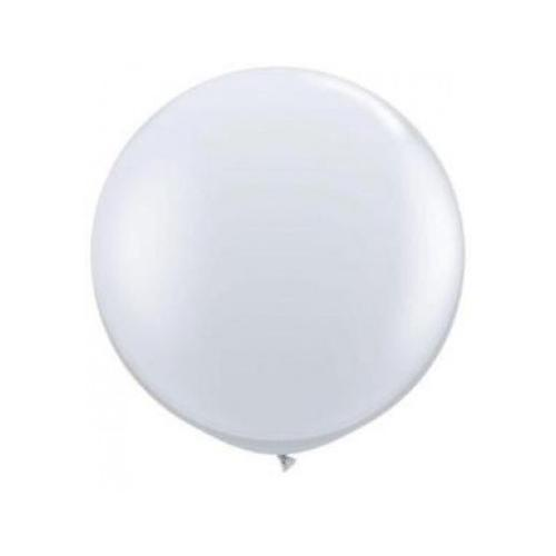 LATEX BALLOON 60CM - WHITE