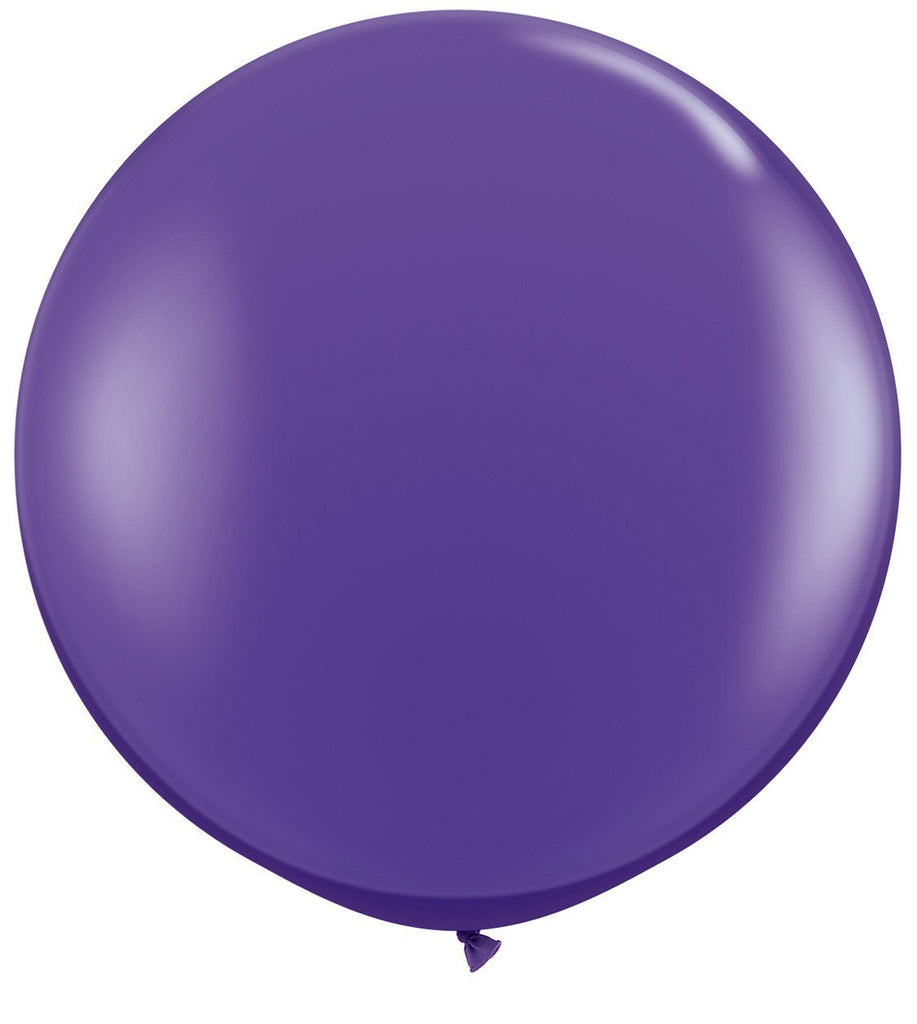 LATEX JUMBO BALLOON 90CM - FASHION PURPLE VIOLET