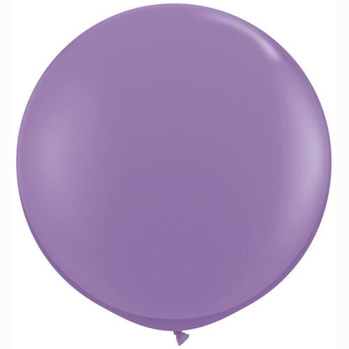 LATEX JUMBO BALLOON 90CM - FASHION SPRING LILAC PK 2