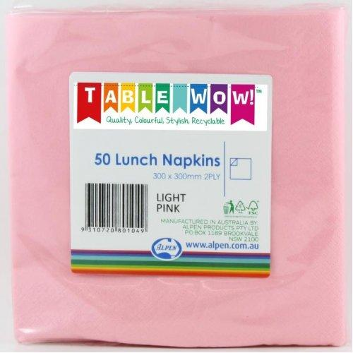 LUNCH NAPKIN - 2PLY PINK PK50