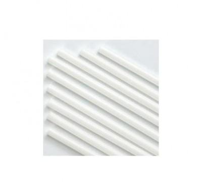 MICRO BALLOON STICK 30CM - WHITE EACH