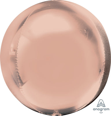 ORBZ BALLOON 40CM - ROSE GOLD