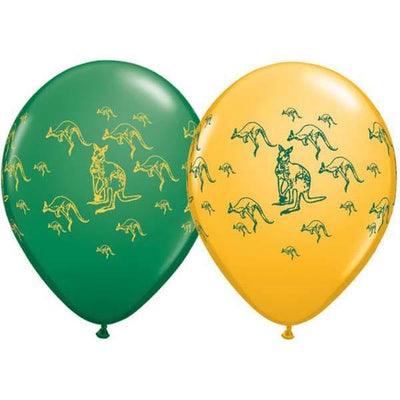 PRINTED LATEX BALLOON 28CM - AUSTRALIA DAY PK 25