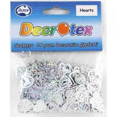 SCATTERS - HEARTS SILVER HOLO 14G
