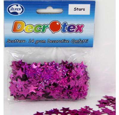 SCATTERS - STARS PINK 14G