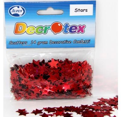 SCATTERS - STARS RED 14G