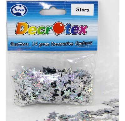 SCATTERS - STARS SILVER 14G