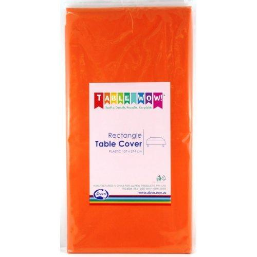 TABLE COVER - RECTANGLE ORANGE EACH