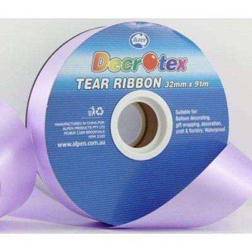TEAR RIBBON 32MM X 91M - LAVENDER