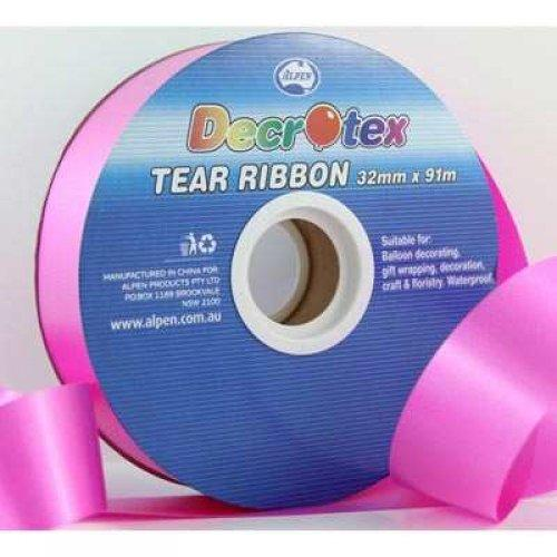 TEAR RIBBON 32MM X 91M - MAGENTA