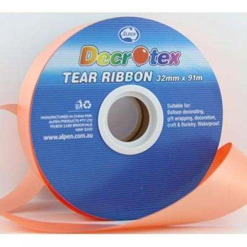 TEAR RIBBON 32MM X 91M - ORANGE