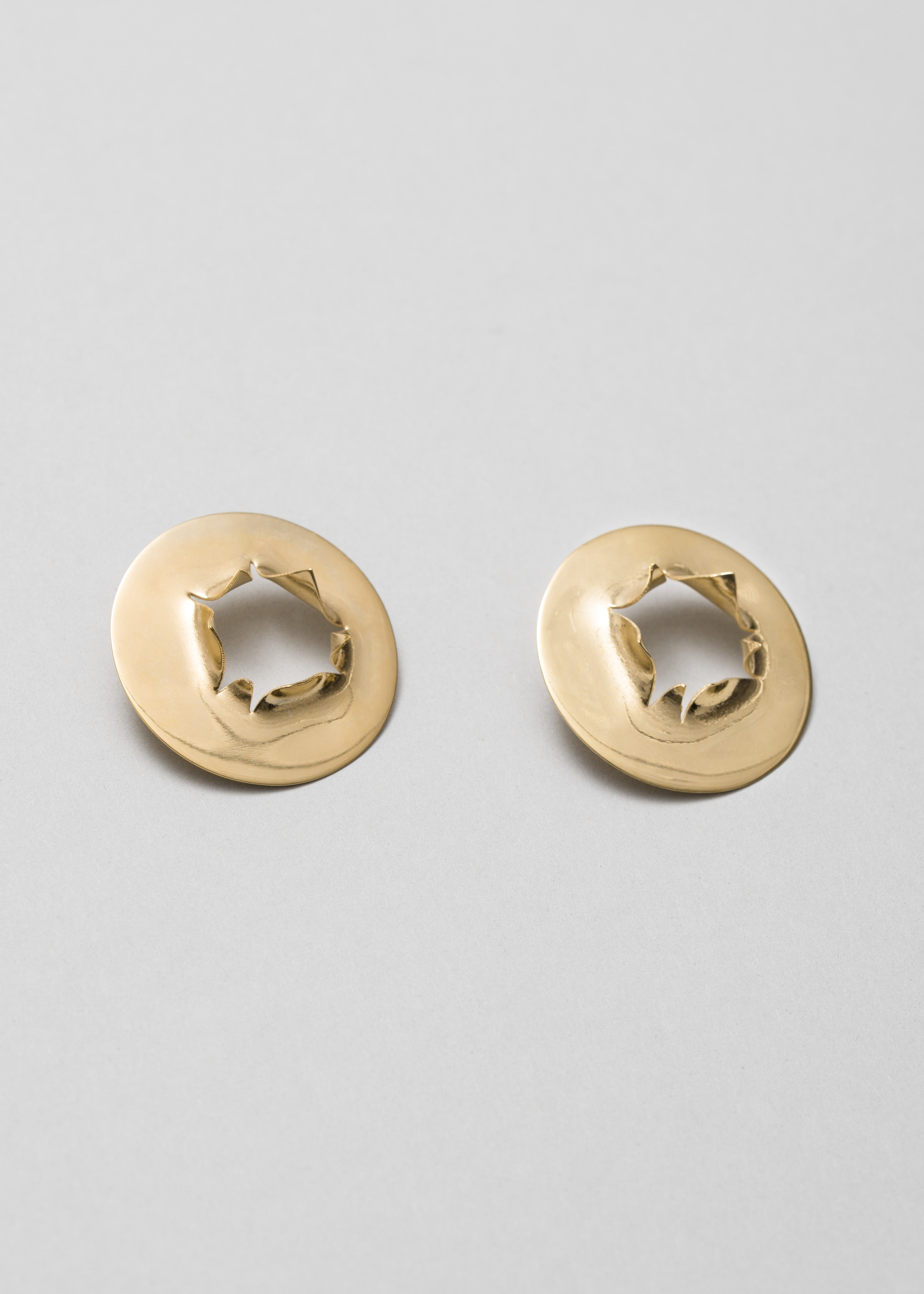 Bullet hole earrings