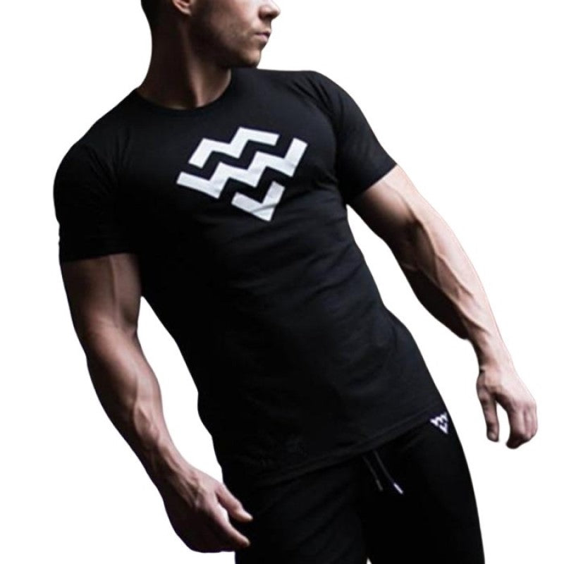 Waves Bodybuilding T-Shirt