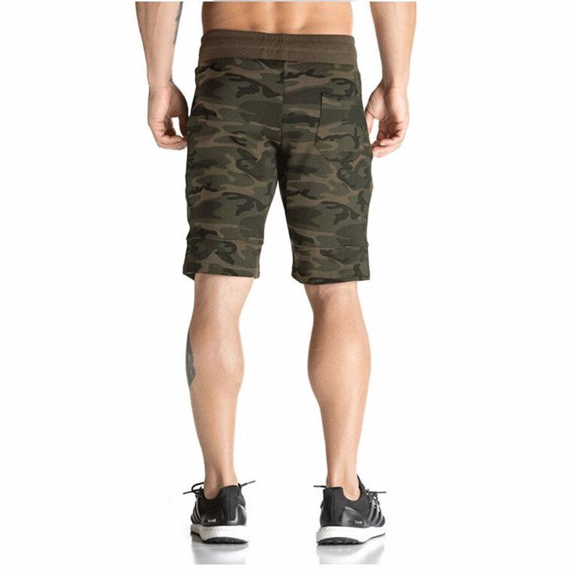 Camo Bodybuilding Shorts