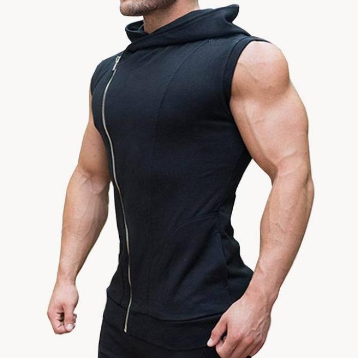 Force Sleeveless Hoodie