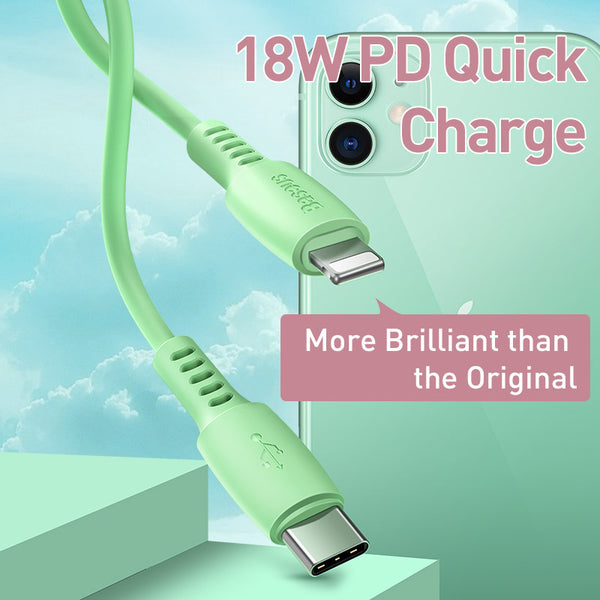 BASEUS COLOURFUL CABLE TYPE.C FOR IPH 18W 1.2M,Type C To IPhone , USB C To IPhone , Type C To Lightning, USB C To Lightning, IPhone 12 Cable, Cable For IPhone 12,Cable For IPhone 12,Cable For IPhone 12,, IPHONE 12 CABLE,PD CABLE