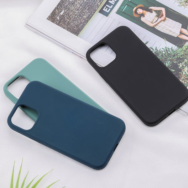 "IPhone 12 Pro Max(6.7"") New Liquid Silicone Series protection case fo"