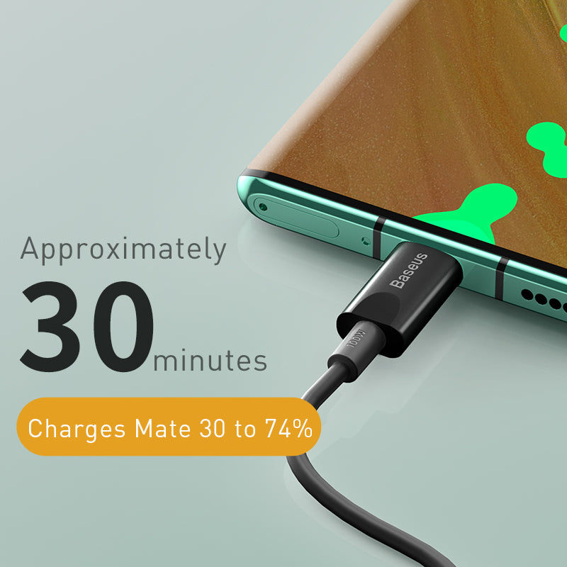 BASEUS XIAOBAI SERIES FAST CHARGING CABLE TYPE.C 100W (20V/5A)1.5M