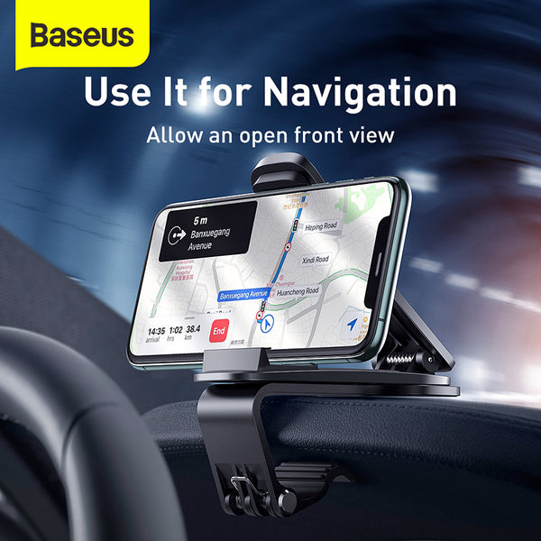BASEUS BIG MOUTH PRO CAR MOUNT , CAR PHONE HOLDER,  DASHBOARD HOLDER, Car Holder Mobile Phone Stand Holder, Lazy,phone holder stand,Adjustable Phone Holder ,Tablet Universal Mobile Phone Holder Holder for iphone 11.iphone 12, xiaomi , android,all in one