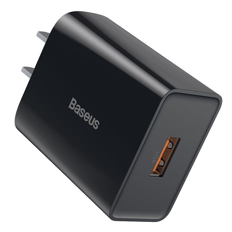 BASEUS SPEED MINI QC SINGLE U QUICK CHARGER (18W)