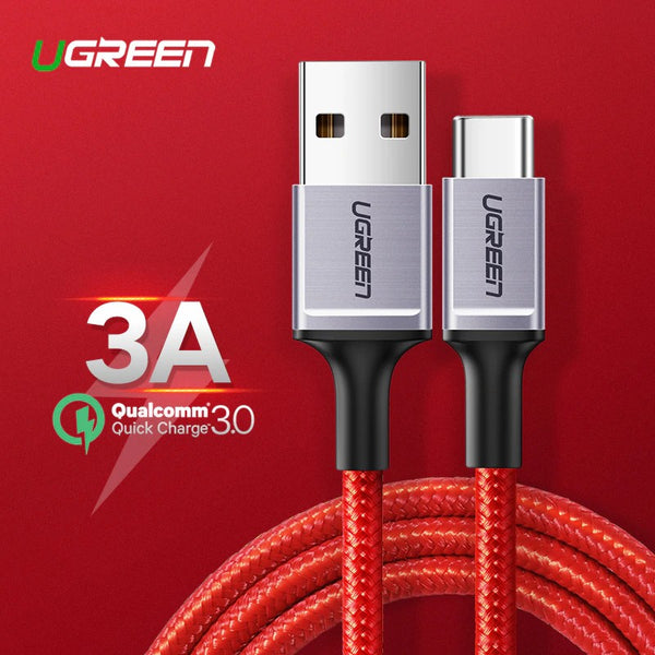UGREEN OFFICIAL USB A to USB C Fast Charging Cable