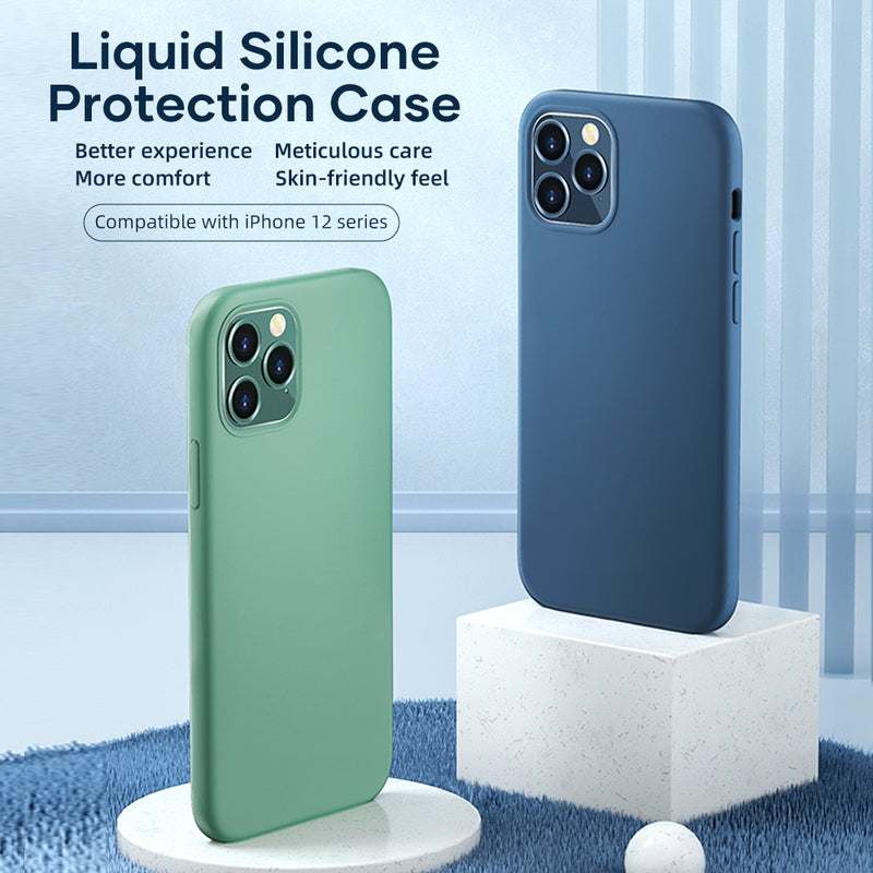ROCK IPh 12 (5.4 inches) New Liquid Silicone Series protection case
