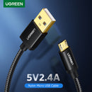 UGREEN US125 MICRO USB 2.0 CABLE GOLD PLATE