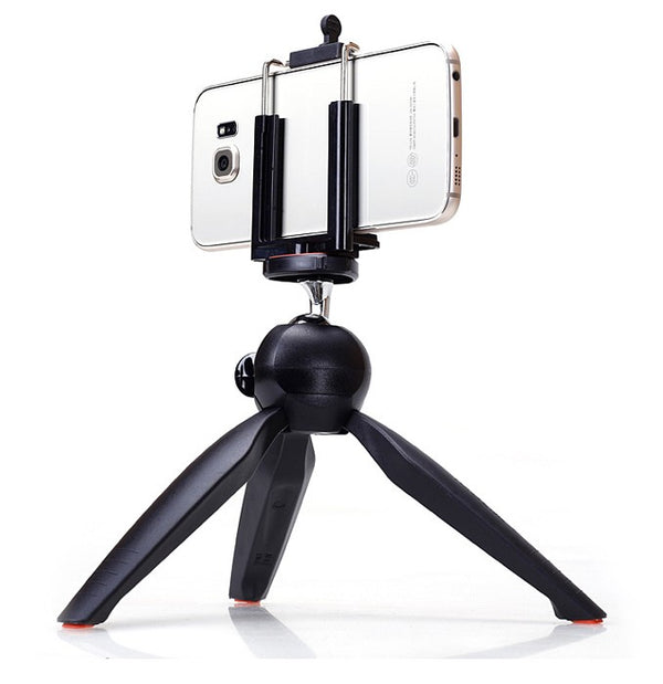 YUNTENG 228 Mini Tripod with Phone Holder Clip