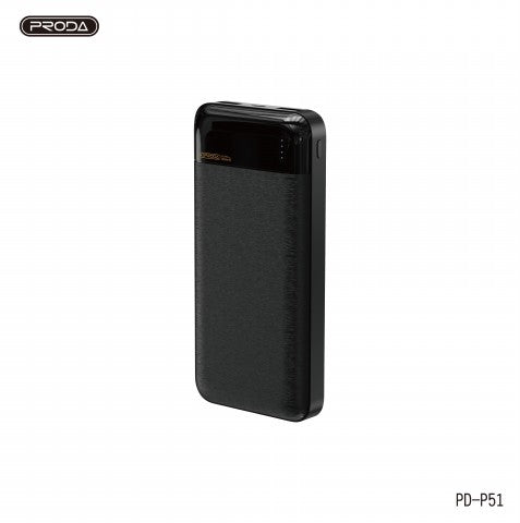 PRODA PD-P51 20000mAh GLADIATOR SERIES POWER BANK