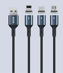 REMAX---RC-156I (I-PH) CIGAN SERIES POWERFUL MAGNET  CONNECTION DATA CABLE 1000MM,Lightning Cable,iPhone Data Cable,iPhone Charging Cable,iPhone Lightning charging cable ,Best lightning cable for iPhone,Apple iPhone Cable,iPhone USB Cable