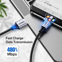 Load image into Gallery viewer, UGREEN OFFICIAL 3A Fast Charging Type-C Data Cable