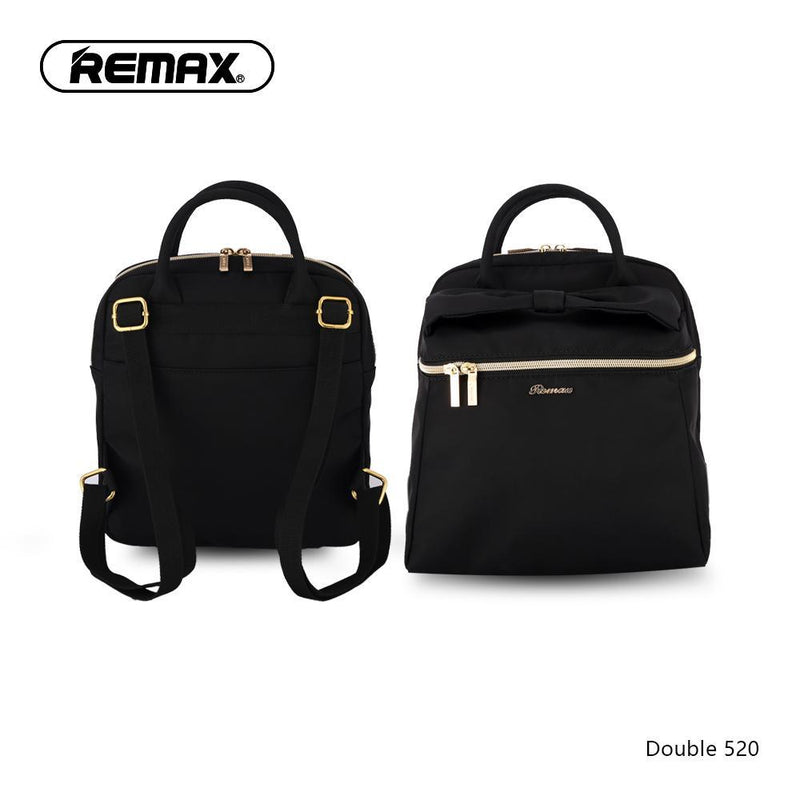 REMAX DOUBLE 520 BACKPACK,Double Backpack Bag,Modern Backpacks,Simple Backpack,Insulated Backpack for Laptop,Fashion Backpack, Unique Backpack,Canvas Backpack,Student Backpack,Cool Backpack for Boys,Girls,Men,Women,School Bag
