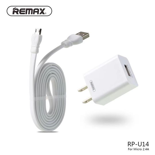 REMAX-(MICRO)RP-U14 TRAVELLER SERIES  WITH 2.4 DATA CABLE , Travel Charger , Smart Travel Adapter , World Travel Adapter , Universal Travel Adapter Travel Charger for mobile ,travel charger , Universal Travel Adapter Wall , Universal Adapter Socket ,