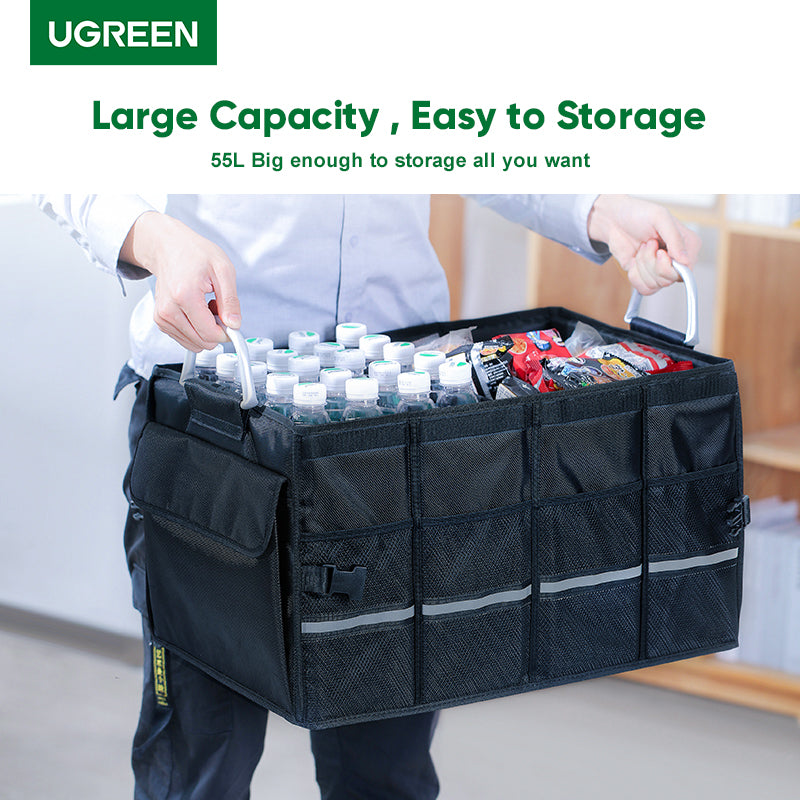 UGREEN OFFICIAL Multifunctional Car Trunk Organizer