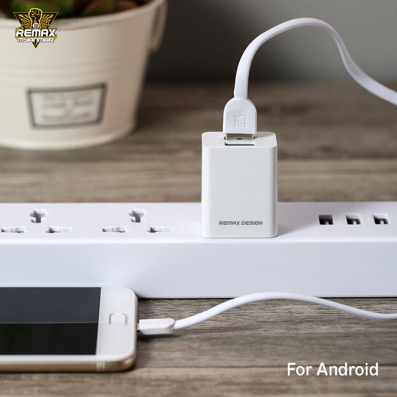 REMAX-RP-U14 PRO (MICRO) DUAL USB 2.4A CHARGER&DATA CABLE,Charger,USB Phone Charger,Mobile Phone Charger,Smart Phone Charger,Andriod Phone Charger , Muti port usb charger,quick charger,fast charger,the best usb phone charger,wall charger,Portable Charger